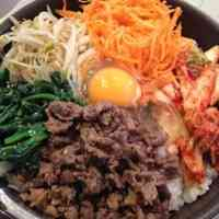 Addictive Bibimbap Made in a Frying Pan