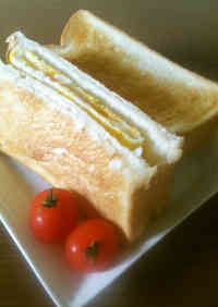 For Breakfast Mentaiko Cheese Toast Sandwich Easy!