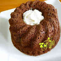 Low-Sugar Microwave Okara Pound Cake (Cocoa)