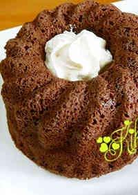 Low-Sugar Microwave Okara Pound Cake (Cocoa)