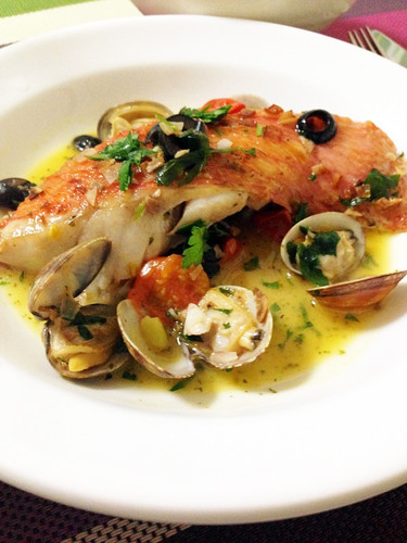 Delicious Acqua Pazza Using Fish Fillets