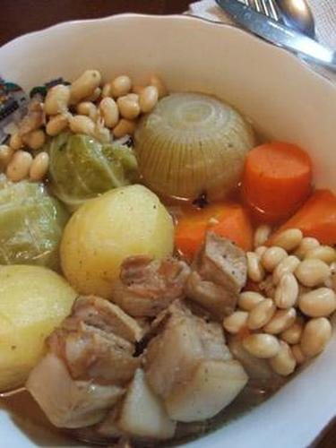 Pot au Feu with Pancetta and Chunky Vegetables