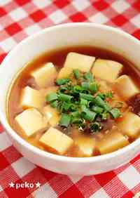 Almost Mapo Tofu (in 5 minutes with microwave)