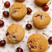 American Cherry Muffins