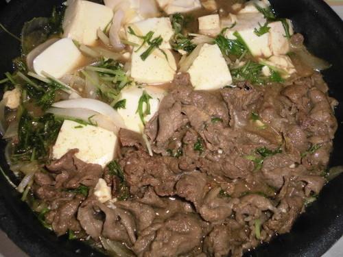 Sukiyaki-Style Stir-Fried Beef