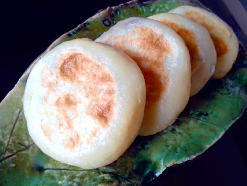 Shinshu Eggplant Oyaki (flat cakes)