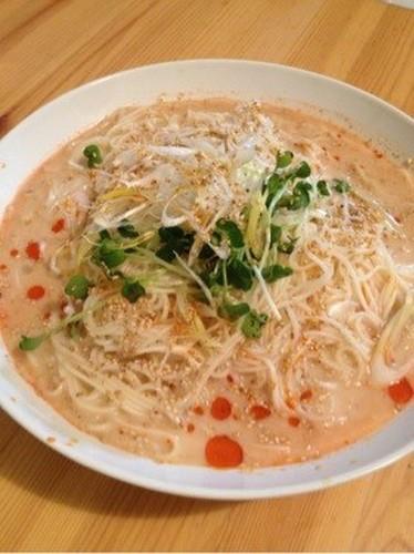 Easy Soy Milk Noodle Soup for Udon, Hiyamugi Noodles, or Somen!