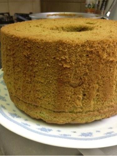 3 Egg Matcha Chiffon Cake
