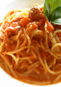 Tuna and Tomato Cream Pasta Sauce