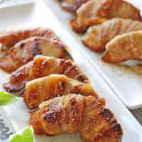 Kabocha Squash & Pork Belly Meat Rolls