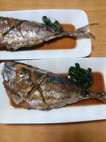 Simmered Horse Mackerel