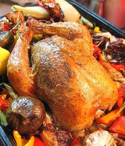 Roast Chicken (for any occasion!)