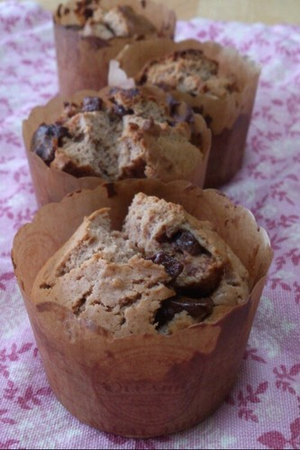 Fluffy & Moist Easy Chocolate Muffins