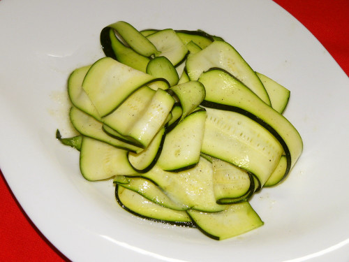 Simple Zucchini Salad