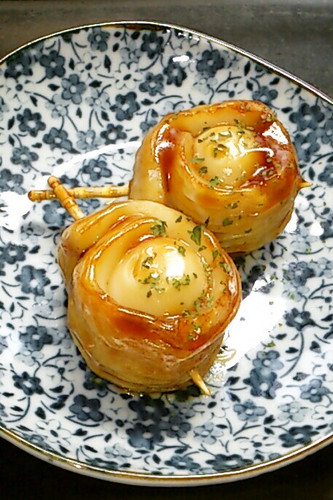 For Bentos: Chikuwa and Quail Egg Teriyaki