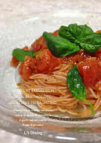 Chilled Tomato Pasta Sauce