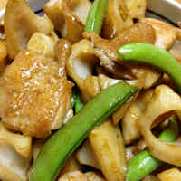 Simmered Lotus Root and Chicken
