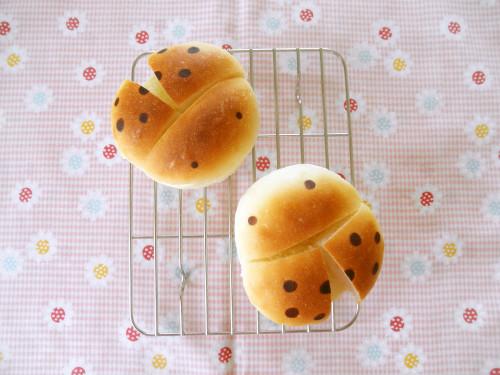 Ladybug Bread Rolls