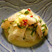 Flounder in Shisho and Lemon