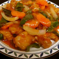 Sweet and Sour Chicken (Non-Fried)