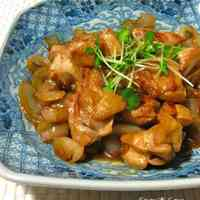 Sweet and Savoury Stir-Fried Chicken and Onion
