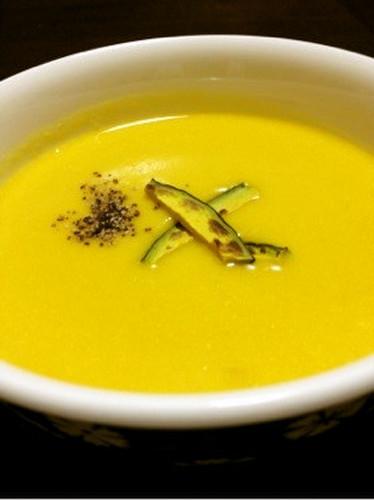 Kabocha Soy Milk Soup (Pottage)