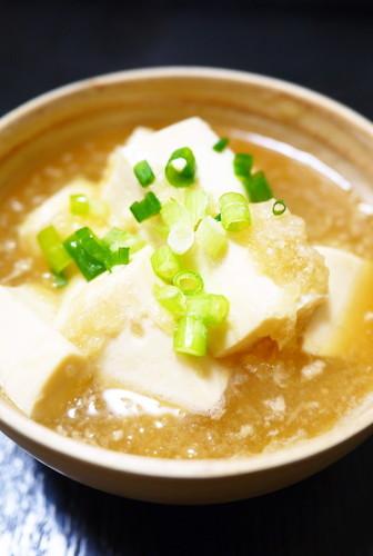 Silken Tofu Mizore Stew