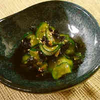 Cucumber and Korean Nori Seaweed Namul