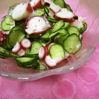 Octopus and Cucumber in Mildly Sour Vinegar
