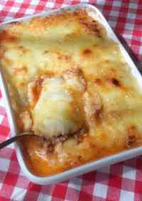 Mashed Potato and Ground Meat Gratin