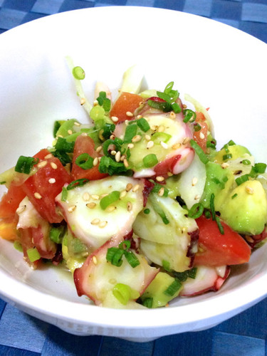 Hawaiian Octopus Poke