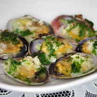 Sublime Baked Manila Clams with Garlic Butter