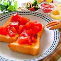 Delicious! One More Slice! Tomato Toast