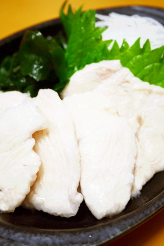 Amazingly Tender! Sashimi-Like Chicken Breast