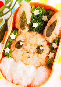 Eevee (Pokemon) Bento with Just 4 Ingredients