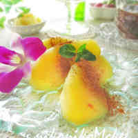 Beautiful Apple Honey Compote witth Shio-koji