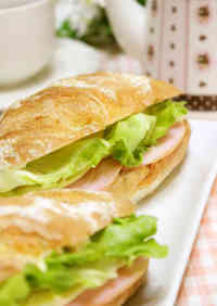 Parisienne Sandwich Ham and Cheese