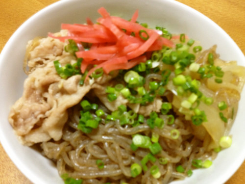 Beef Bowl? Pork Bowl? Shirataki Noodle Bowl!!
