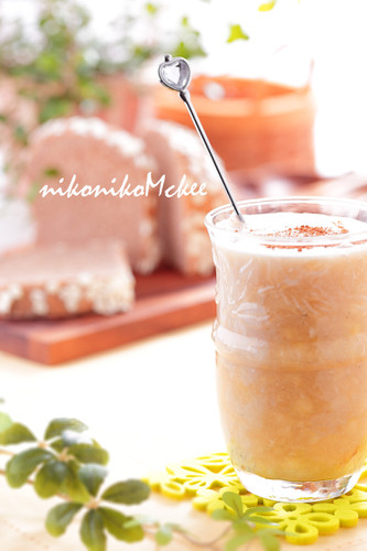Banana and Black Vinegar Soy Milk Smoothie