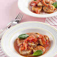 Simmered Chicken and Spiced Tomato