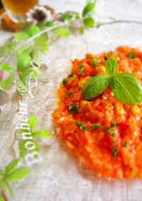 Easy Lunch in 10 Minutes - Summery Tomato Risotto