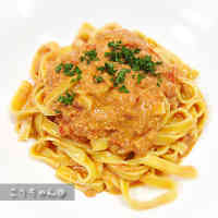 Authentic Crab and Tomato Cream Pasta
