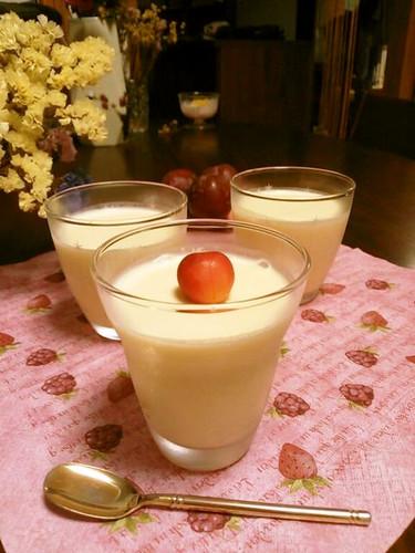 Mild Orange Milk Jelly