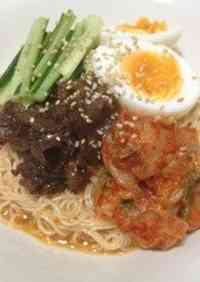 Sweet & Sour Beef Bibim Noodles with Somen