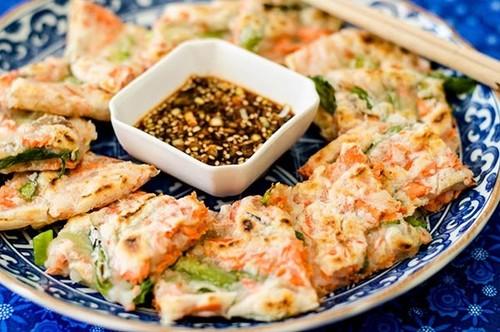 Salmon & Green Onion Chijimi (Gluten-Free)