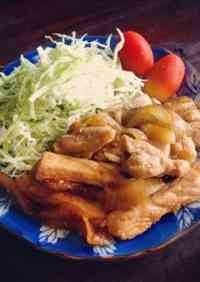 Ginger Pork with Plenty of Onions