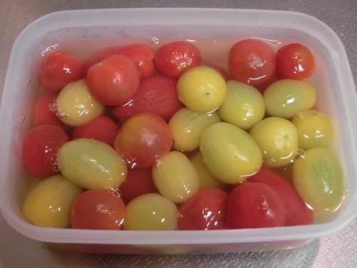 Honey-Marinated Cherry Tomatoes