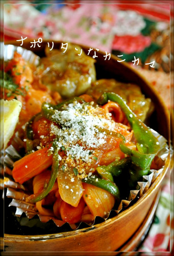 For Bentos or Breakfast! Ketchup Flavored Crab Stick Stir Fry