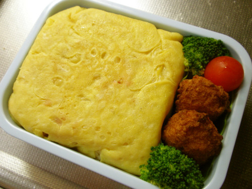 Omurice for your Bento