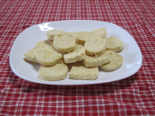 Cheese-flavored Okara Cookies for Dieters